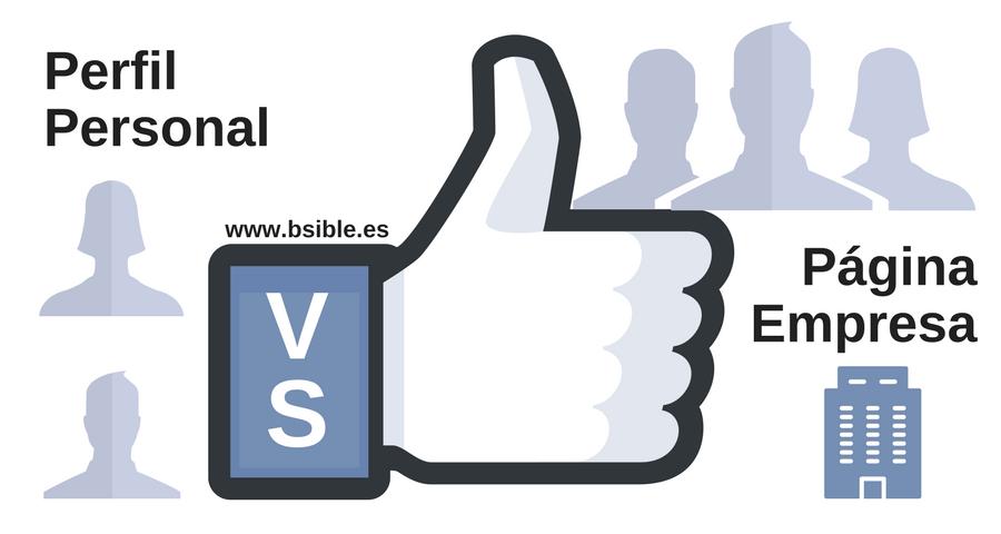Facebook: Perfil vs Página ¿Qué y Por qué?
