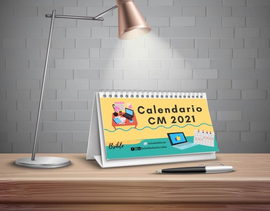 Calendario Community Manager 2021