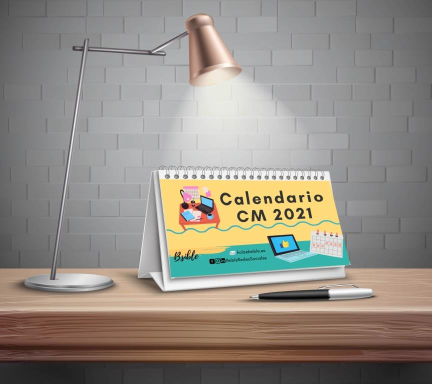 Calendario Community Manager 2021 - Bsible